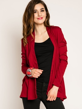 Solid Color Standard Trench Coat