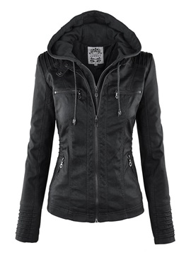 Long Sleeves Hooded Women's Jacket
