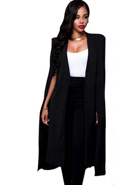 Long Straight Fit Women's Blazer
