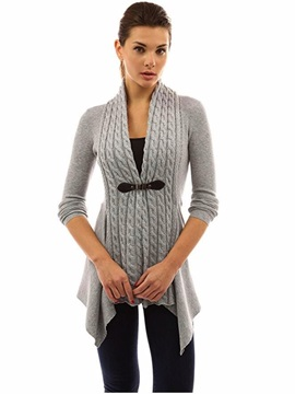 Cardigan Long Sleeve Women's Knitwear