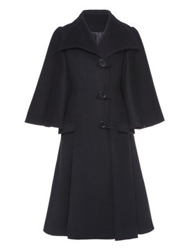 A Line Long Sleeve Women's Trench Coat