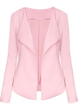 Long Sleeve Plain Spring Women's Blazer