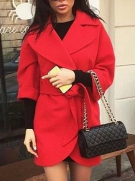 Slim Mid-Length Women's Overcoat