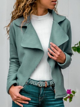 Long Sleeve Slim Regular Standard Women's Jacket