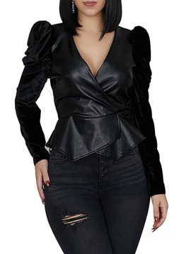 Slim Standard Women's PU Jacket