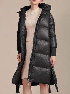 Thick Pocket Loose Long Women's Cotton Padded Jacket
