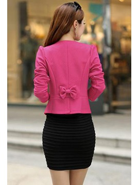 Korean Style Slim All-matched Double-breasted Blazer
