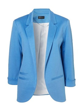 Fashion OL Style Candy Color Thicken Blazer