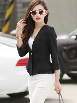 Stylish Multi Color Hemline Blazer