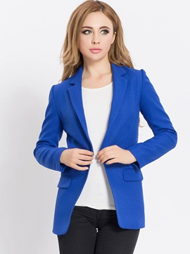 Stylish Simple Cut Slim Blazer