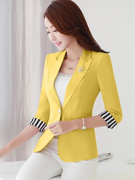 Chic Color Block OL Blazer