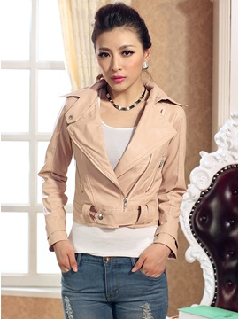 Fashion Long Sleeves Zipper Jackets