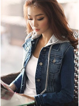 Unique Europe Style Denim Jacket