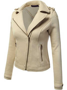 Special Fabric Zipper Decoration Jacket