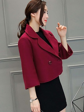 OL Lapel Short Jacket