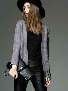 Stylish Tassel Loose Jacket