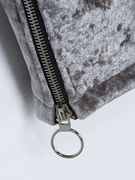 Lapel Zipper Detail Pocket Jacket