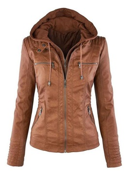 Multi Color Hooded Women's Jacket