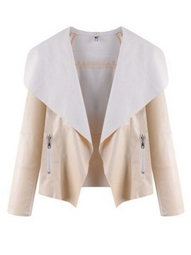 Long Sleeve Lapel Women's Jacket