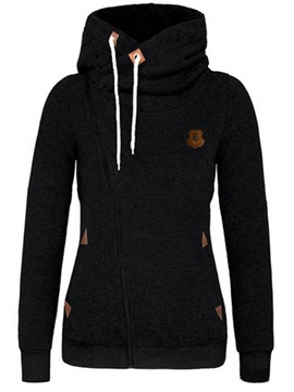 Cardigan Hooded Long Sleeve Regular Hoodie