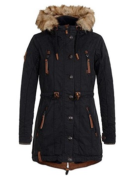 Mid Length Hooded  Women's Jacket