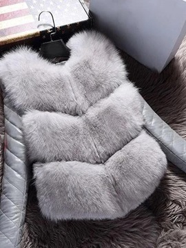Plus Size Patchwork Slim Thick Mid-Length Women's Cotton Padded Jacket