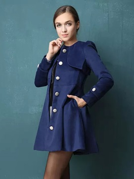 Special Back Single Breasted Trench Coat