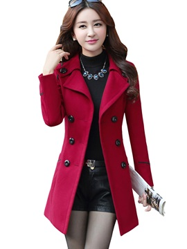 Korean Style Slim Trench Coat