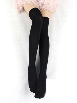 High Quality Solid Color Stockings