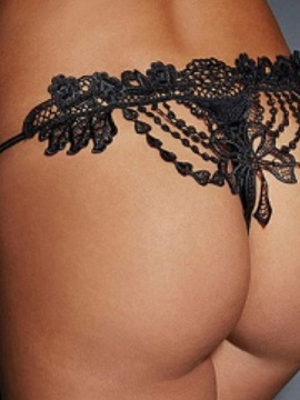 Delicate Embroidery Lace Panty