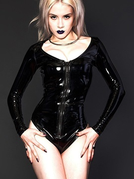 Glamour Long Sleeve Zip-Front Costume