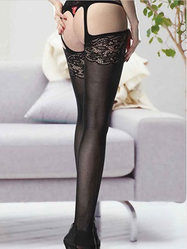 Sexy Cut-Out Lace Garter Belts