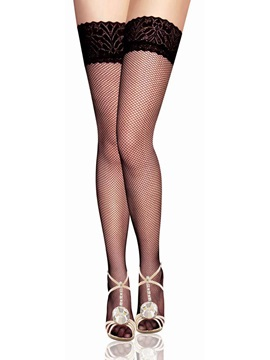 Lace Fashion See-through Women Stockings