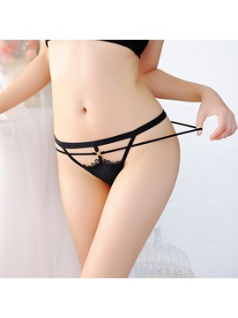 Plain Hollow G-String
