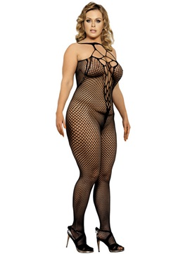 Sexy See-through Mesh Hollow Body Stocking