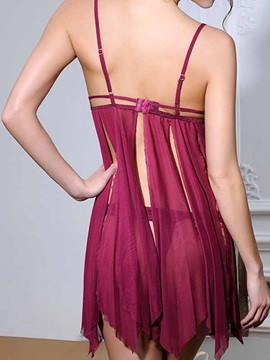 Sexy Open Cup Babydoll Women's Lingerie