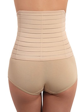 Womens Sport Waist Training Nude Color Corset