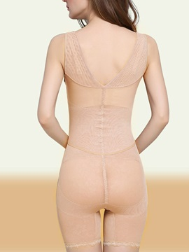 Lace Seamless Abdomen Shaping Breathable Bodysuit