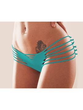 Sensual Hollow Solid Women Thong