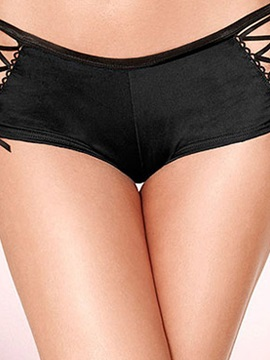 Top Quality See-through Women Thong with Bow