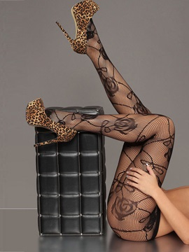 Lovely Flower Pattern Stockings