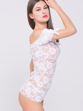Sheer Stretch Lace Chemise