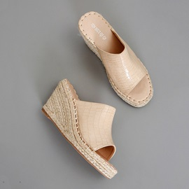 Slip-On Wedge Heel Summer Sandals