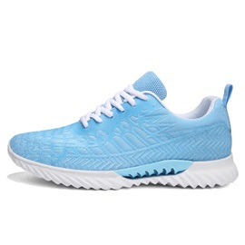 Lace-Up Round Toe Mesh Women's Sneakers