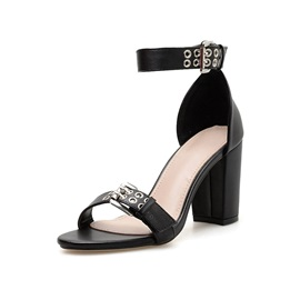 Chunky Heel Open Toe Heel Covering Casual Sandals