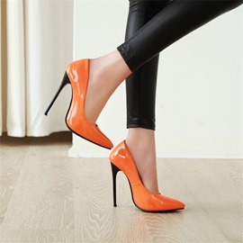 Pointed Toe Slip-On Plain Thin Shoes