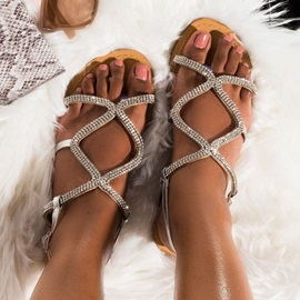 Flat With Buckle Open Toe Casual Sandals