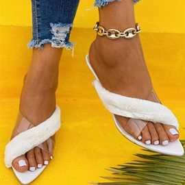 Flat With Slip-On Flip Flop Casual Slippers