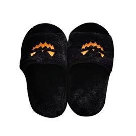 Halloween Slip-On Flat With Flip Flop Compound Slippers