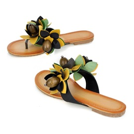 Boho Flowers Thong Beach Sandals